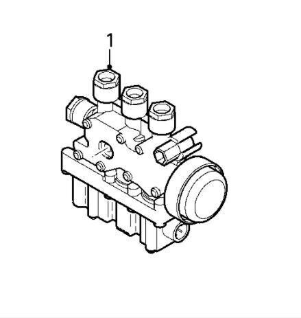 Valvula Selenoide DAF Serie XF105.XXX Fg 4x2 [12,9 Ltr. - 340 kW (1343255) válvula neumática para DAF Serie XF105.XXX Fg 4x2 [12,9 Ltr. - 340 kW Diesel] camión