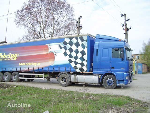 visera parasol para DAF XF95 camión nueva