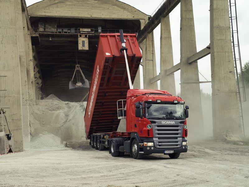 volquete sistema para tractora nuevo