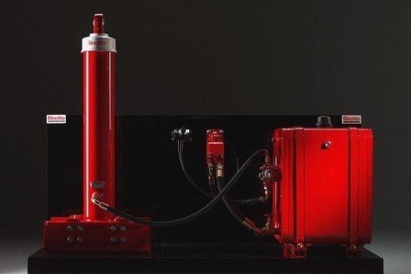 Binotto volquete sistema para Binotto
