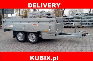 NEPTUN Twin-axle braked trailer Neptun GN156, N13-263 2 kps, GVW 1300kg remolque caja abierta nuevo