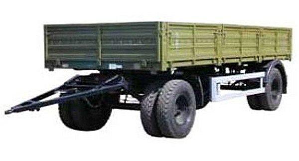 KAMAZ SZAP-8355 remolque caja abierta nuevo