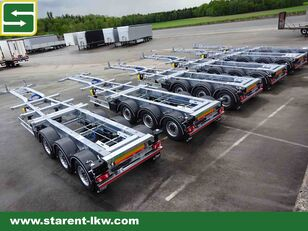 FLIEGL Containerchassis 1x20 / 2x20 / 1x30 / 1x40 / 1x45 Highcube Goose remolque chasis nuevo