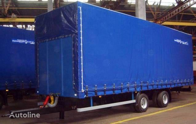 KAMAZ SZAP-83062 remolque con cortina lateral nuevo