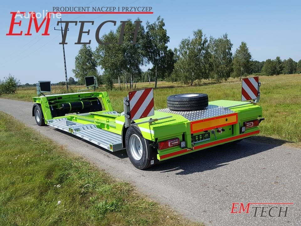 EMTECH 2 osiowa do przewozu kombajnów i maszyn remolque de cama baja nuevo