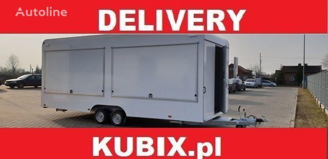 KUBIX CATERING TRAILER Tomplan TH623T.00 PRZYCZEPA GASTRONOMICZNA 6,2x remolque de venta nuevo