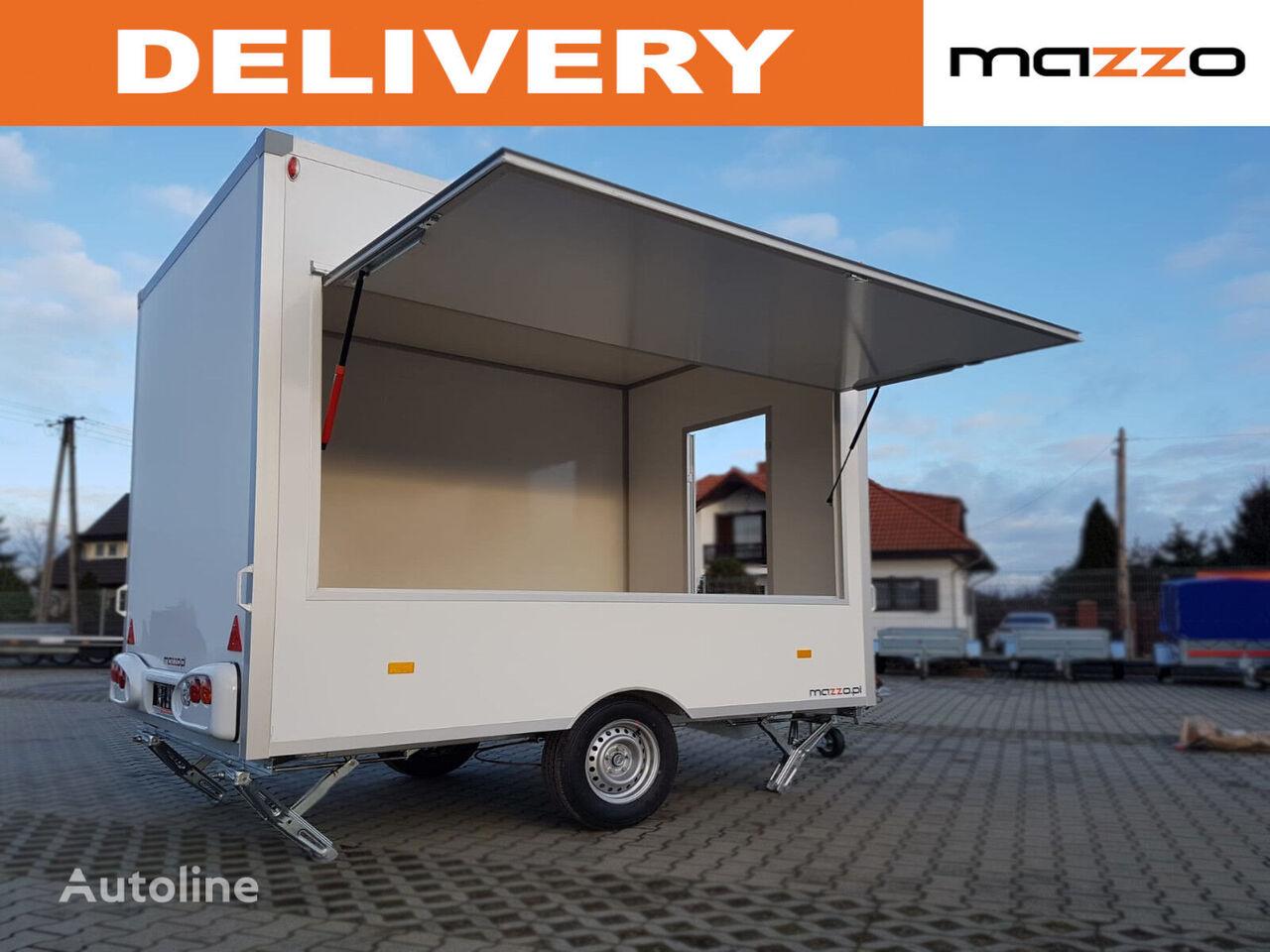 NIEWIADOW H13301H 3x2.03x2.3m Mobile catering trailer street Verkaufsanhän remolque de venta nuevo