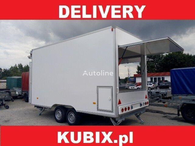 NIEWIADOW H20361HT, Catering trailer, Verkaufsanhänger 360x203x230, 2000kg remolque de venta nuevo