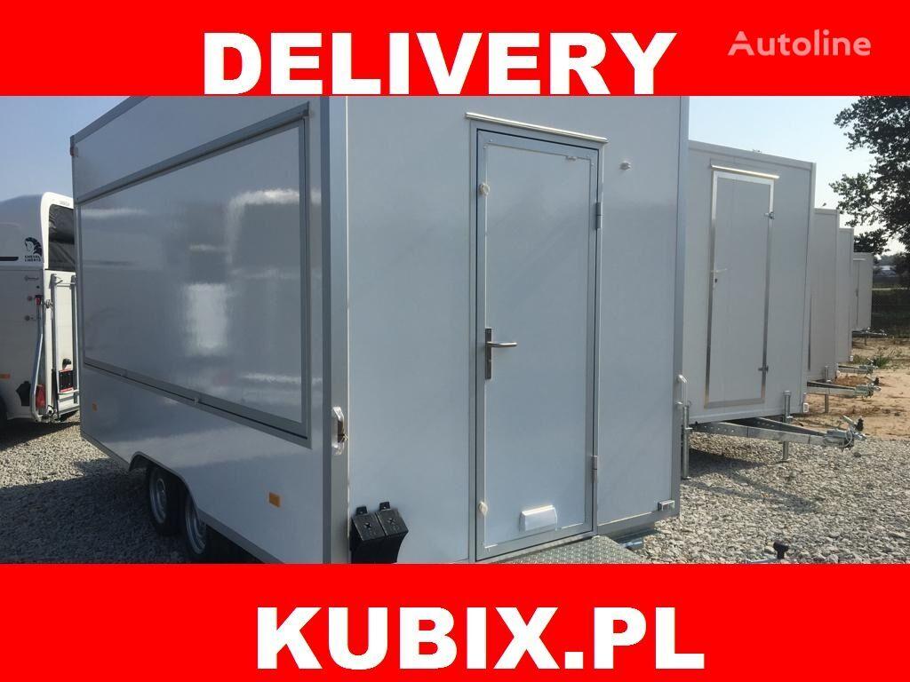 NIEWIADOW H20421HT, Catering trailer, Verkaufsanhänger 420x203x230, 2000kg remolque de venta nuevo