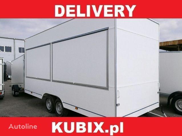 NIEWIADOW H25522HT, 520x203x230, 2500kg remolque de venta nuevo
