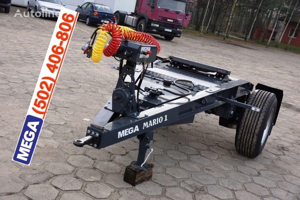 MEGA 1 Achse Dolly fur Kipper / Hydraulik Pumpe / FERTIG  remolque dolly nuevo