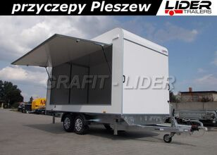 LIDER trailers TP-059 przyczepa 420x200x210cm, kontener, furgon izolow remolque furgón nuevo