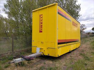 OMAR Biga furgonata con porte+sponda idraulica Anteo remolque furgón
