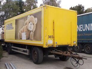 SAXAS AKD74-18, Koffer, LBW remolque furgón