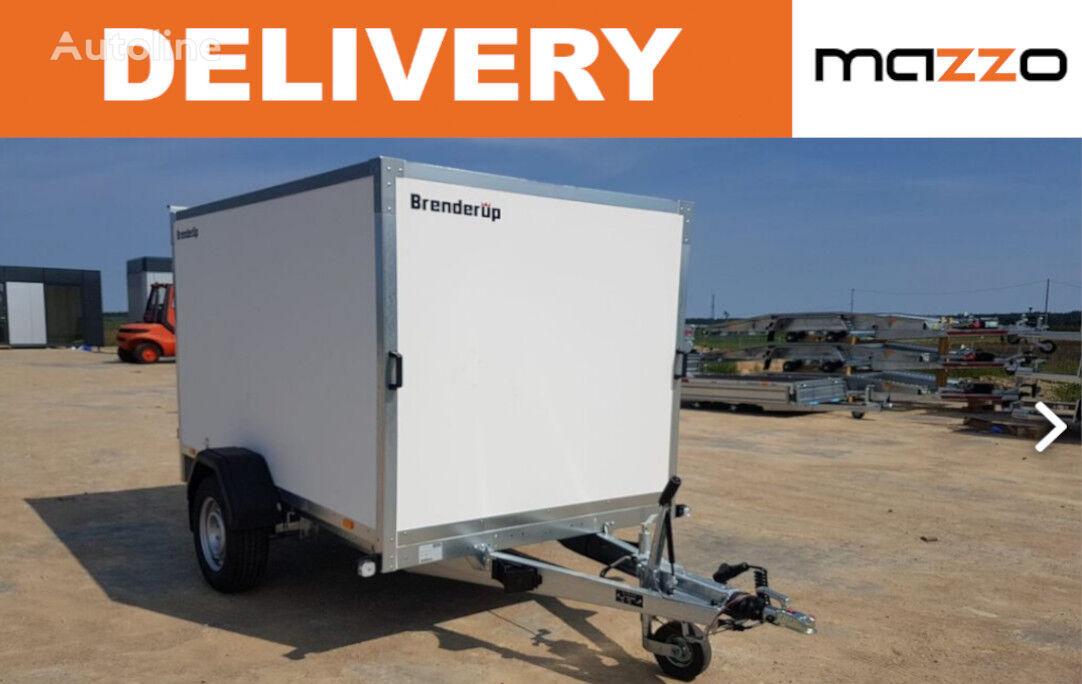 Brenderup Cargo 7260 B + double rear door remolque furgón nuevo