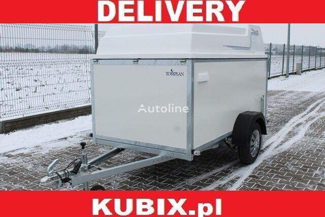 PLYWOOD VAN, TFDL 250.00,TOMPLAN,  furgon sklejkowy z zakryciem, remolque furgón nuevo