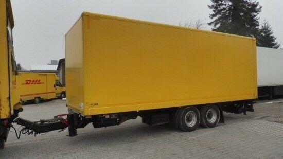SAXAS Tandem-Koffer  remolque furgón
