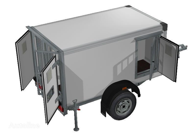 ISTOK 3791M1 remolque furgón nuevo