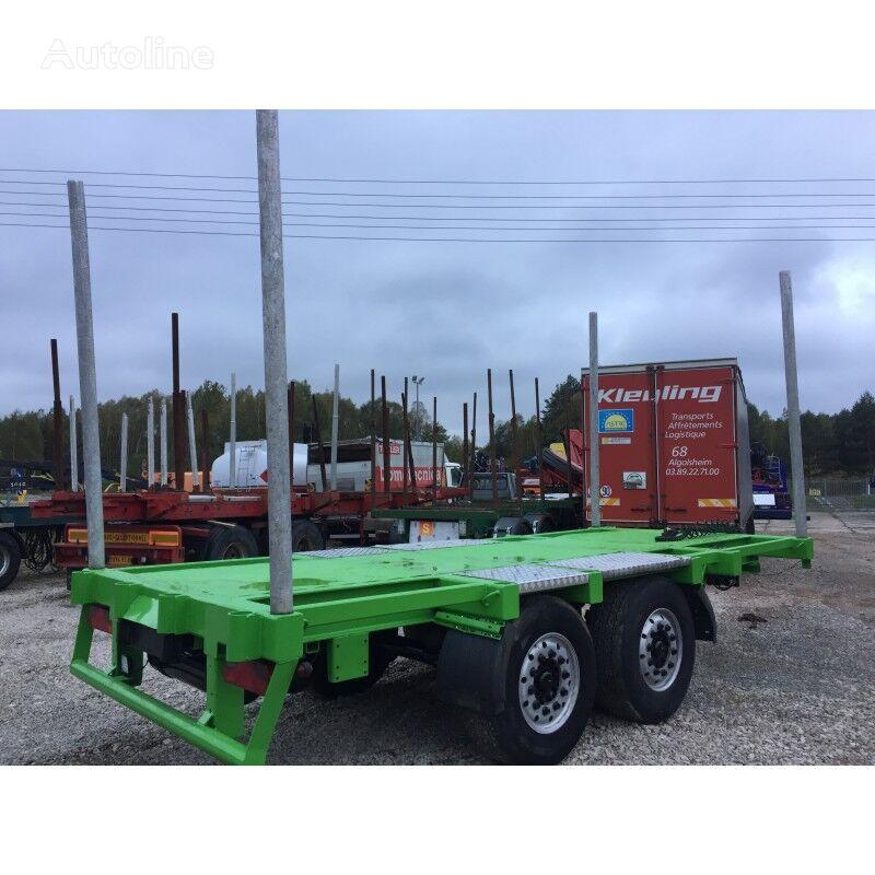WECON TANDEM do transportu drewna Sprowadzona ze Szwajcarii remolque maderero