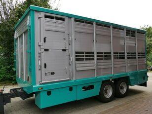 Menke-Janzen Tandem Einstock Top Zustand remolque para transporte de ganado nuevo
