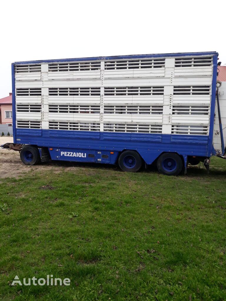 PEZZAIOLI RBA31  remolque para transporte de ganado