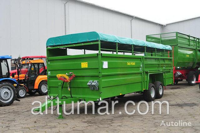 PRONAR T 046/1Przyczepa do przewozu zwierząt (około 10 szt. bydła) PRON remolque para transporte de ganado nuevo