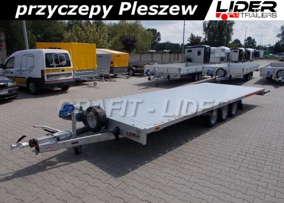 TEMARED TM-173 przyczepa 593x215cm, Carplatform 6021S 3  remolque portacoches nuevo