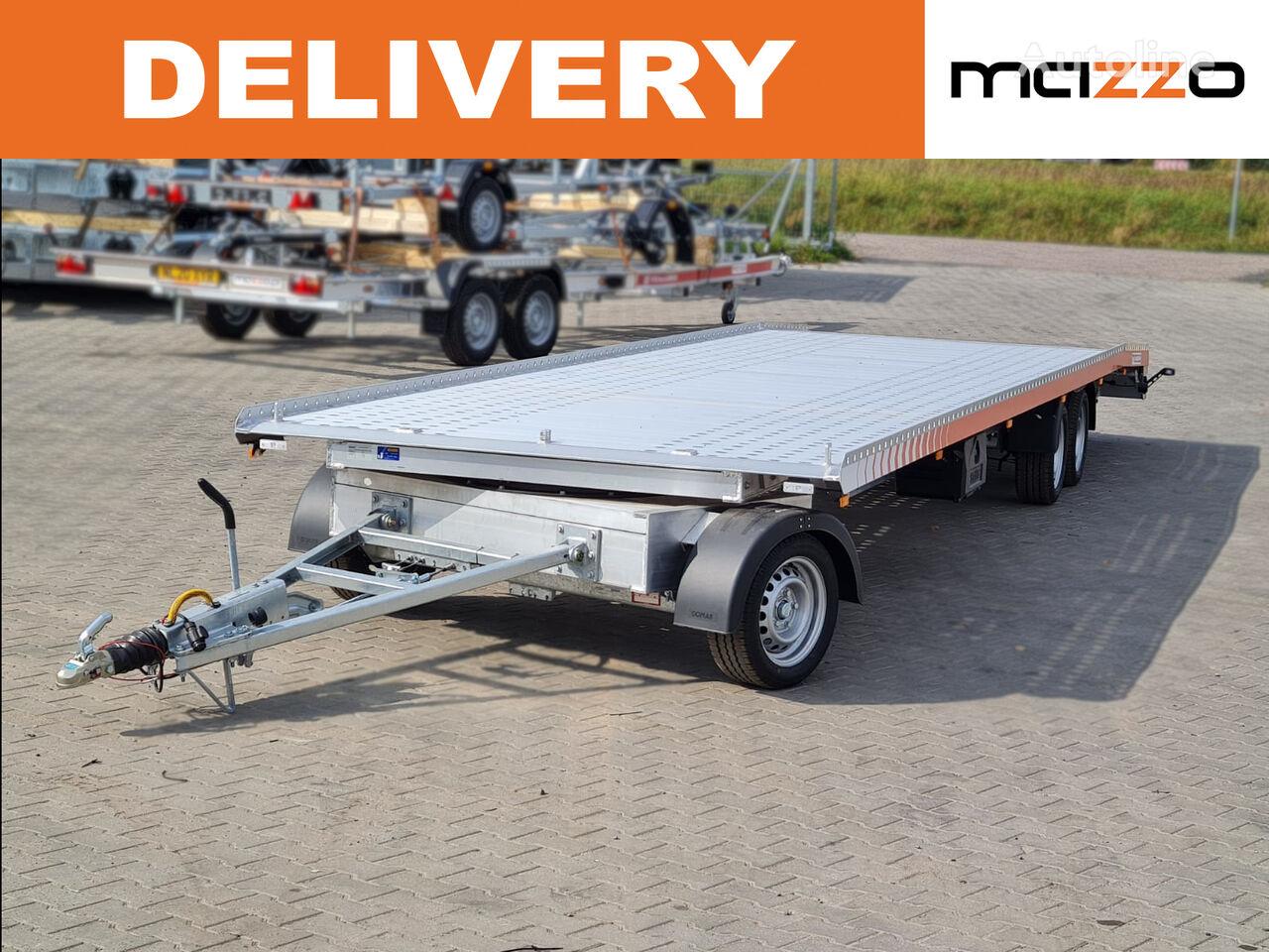 Turntable Transporter 850 x 210cm ALU GVW 3500kg PREMIUM remolque portacoches nuevo