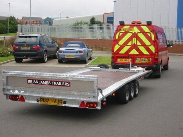 BRIAN James Trailers TT-T-303 remolque portacoches