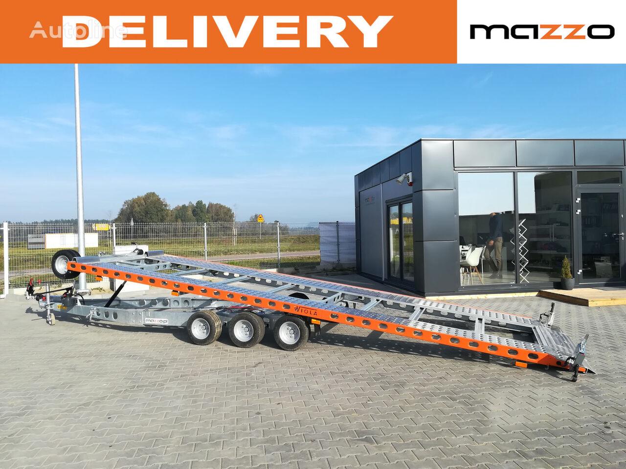 L35G65P Tilted trailer 650x204cm 3500kg! remolque portacoches nuevo