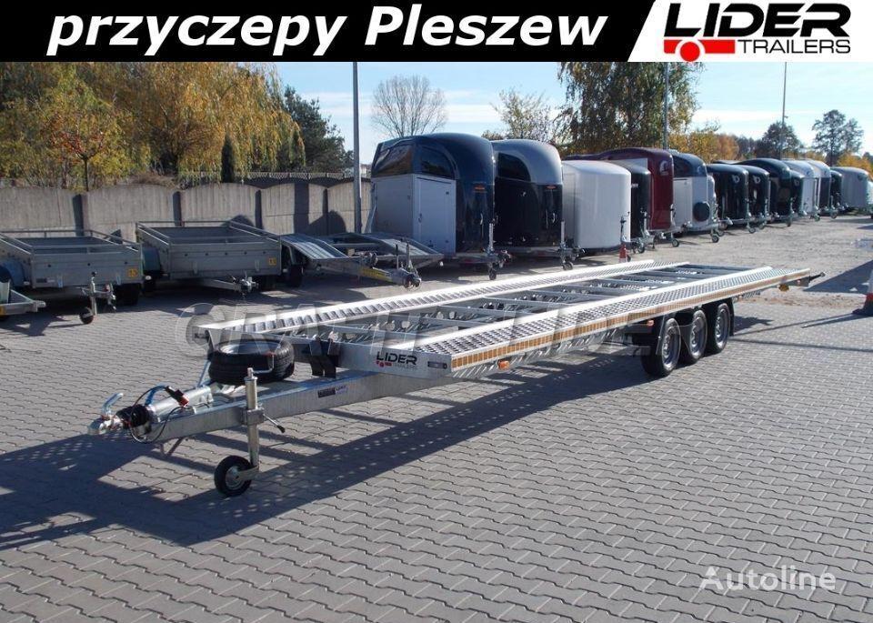 LIDER lider-trailers LT-025 laweta na 2 auta 850x210cm ALU - STAL, do  remolque portacoches nuevo