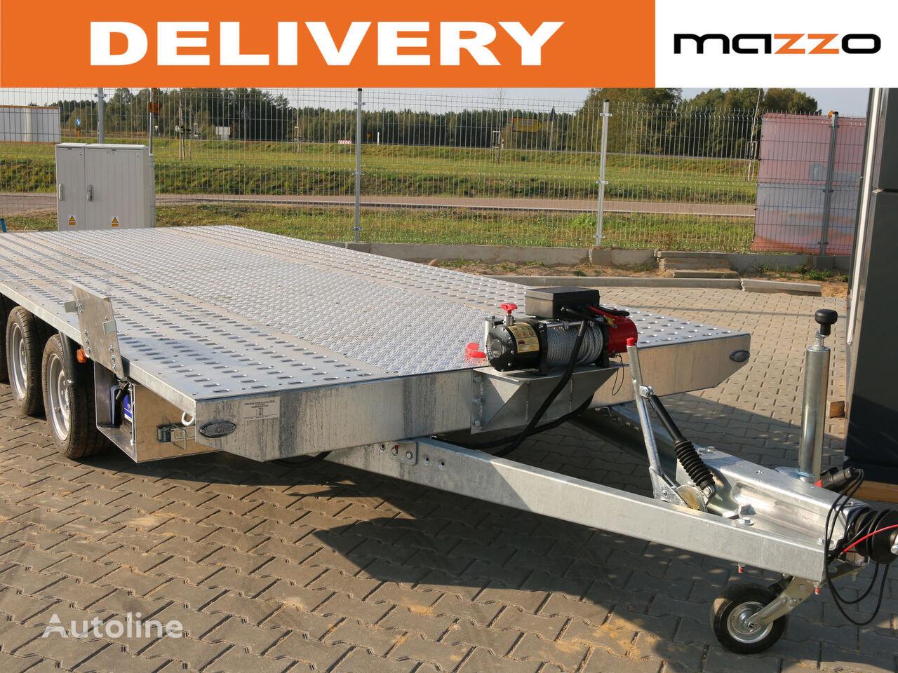 MARS 5 x 2.1m 3500kg Electric winch remolque portacoches nuevo