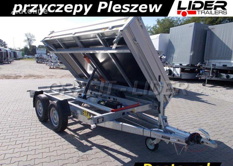 Cheval liberte DB-041 przyczepa 306x180x35cm, wywrotka PW 2.3 Eco, kipper remolque volquete nuevo