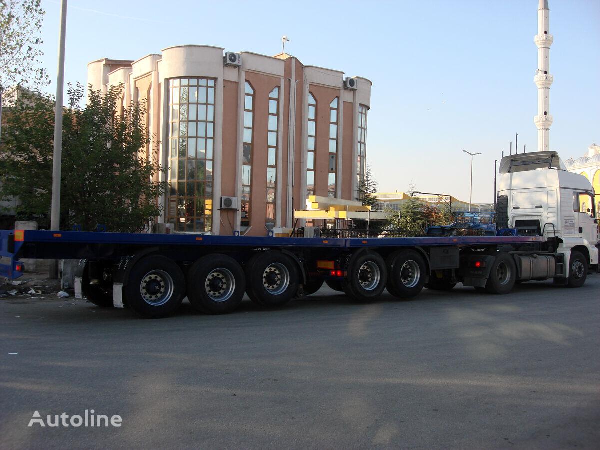 DONAT Extendable Flatbed Heavy Duty semirremolque caja abierta nuevo