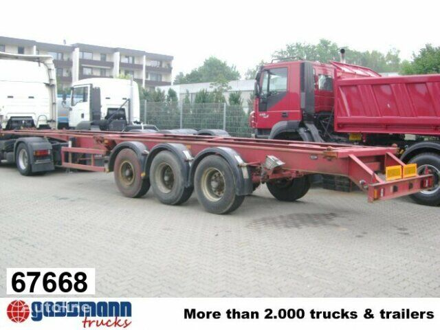 SAnh Container Chassis semirremolque chasis