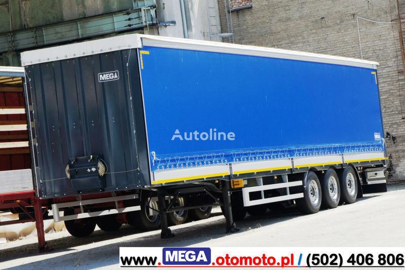 MEGA 3 AXEL CURTAINSIDER / ALUSIDES H=600 MM/ READY !  semirremolque con cortina lateral nuevo