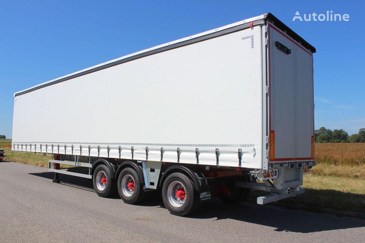 AMT Trailer CI310 3 akslet Gardintrailer m. Tridec og truckbeslag semirremolque con lona corredera nuevo
