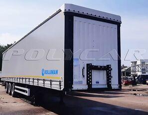 KOLUMAN ШТОРА (Cargo Class) semirremolque con lona corredera nuevo