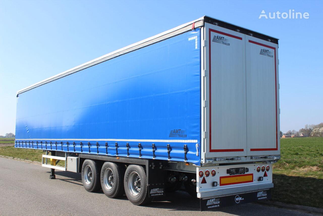 AMT Trailer GA300  gardintrailer semirremolque con lona corredera nuevo