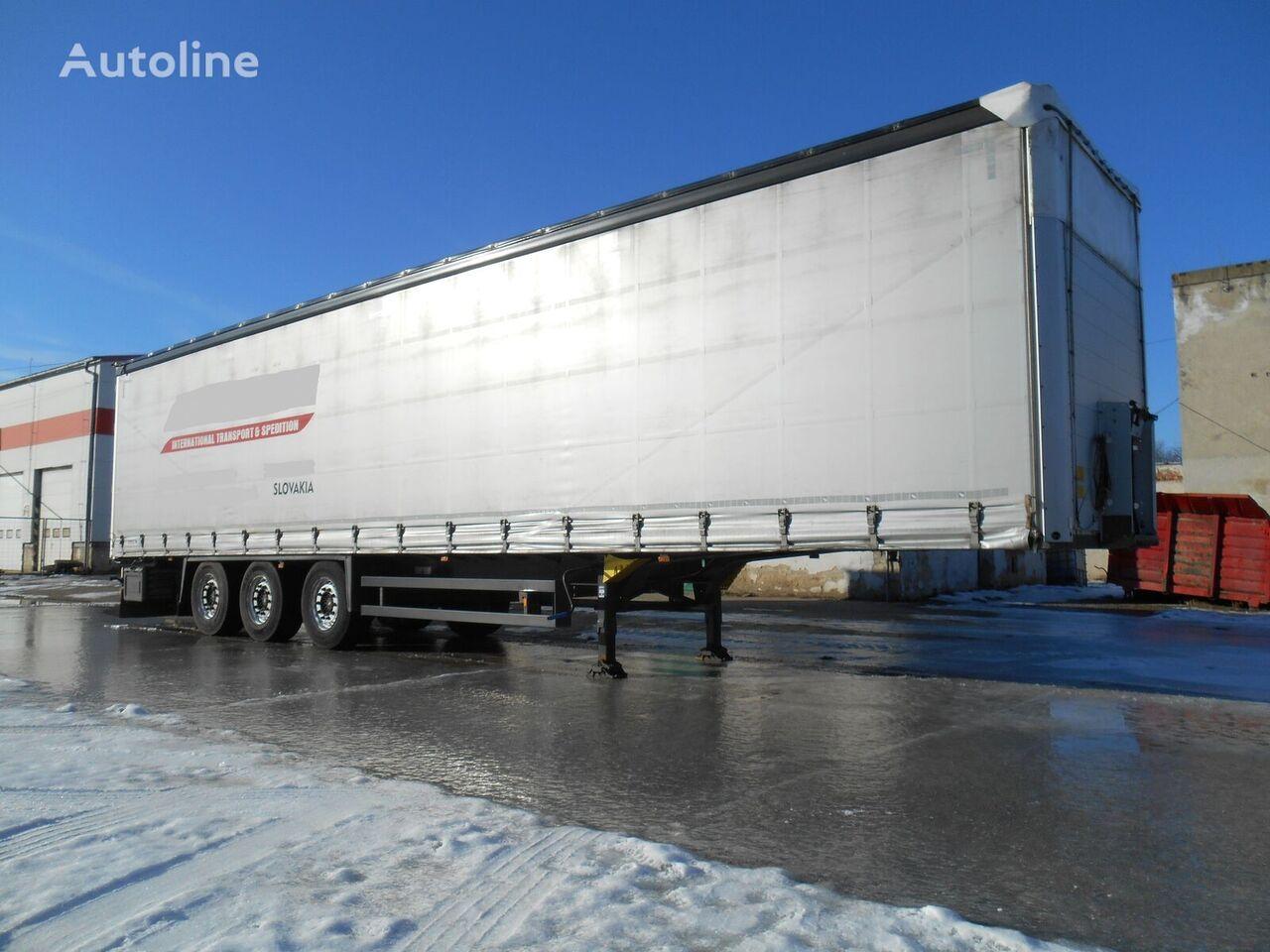 SCHMITZ CARGOBULL COIL MULDE 9m XL CERTIFICATE  SAF AXLE semirremolque con lona corredera