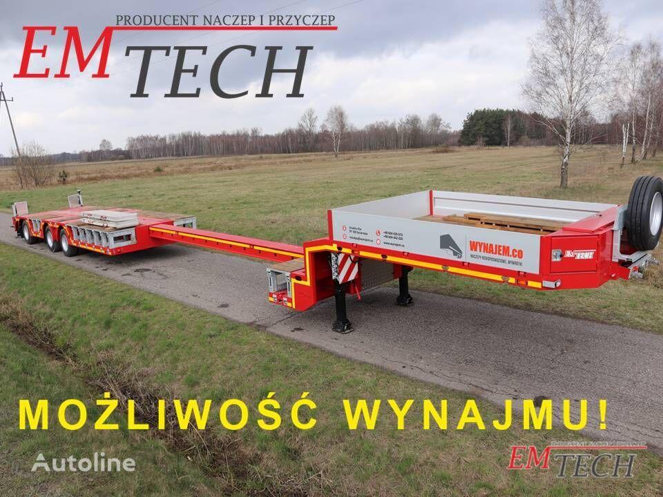 EMTECH  3.NNZ-1R-1N (NA) semirremolque de cama baja nuevo