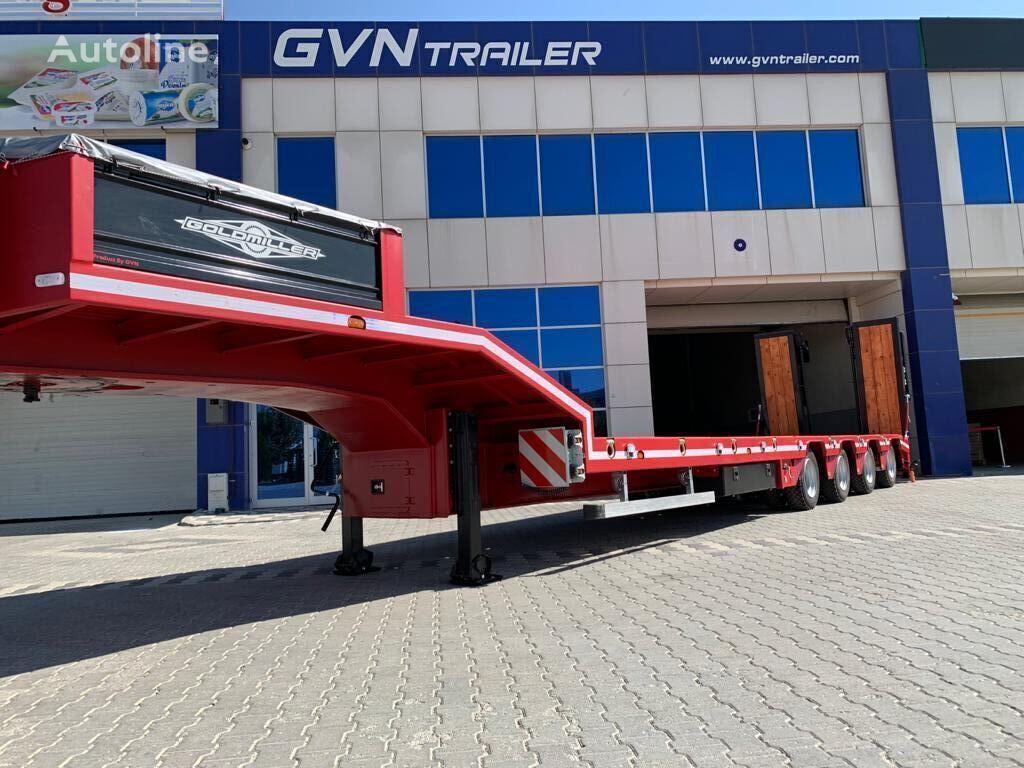GVN TRAILER GVN TRAILER 4 AXLE LOWBED 2021 MODEL ( MANUFACTURER) semirremolque de cama baja nuevo