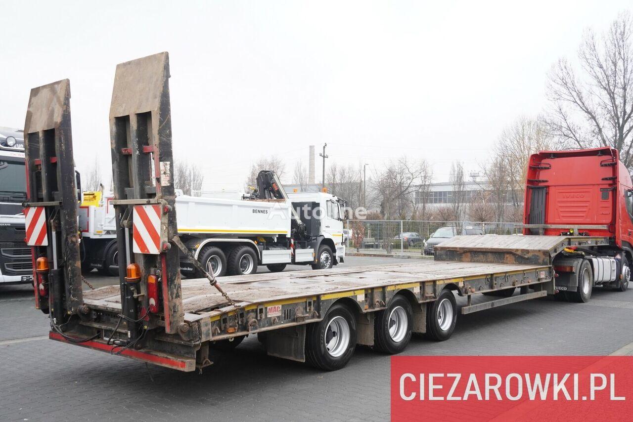 McCAULEY S3 44 , 3xGIGANT , expanded , 9 x 3m , hydraulic ramps  semirremolque de cama baja