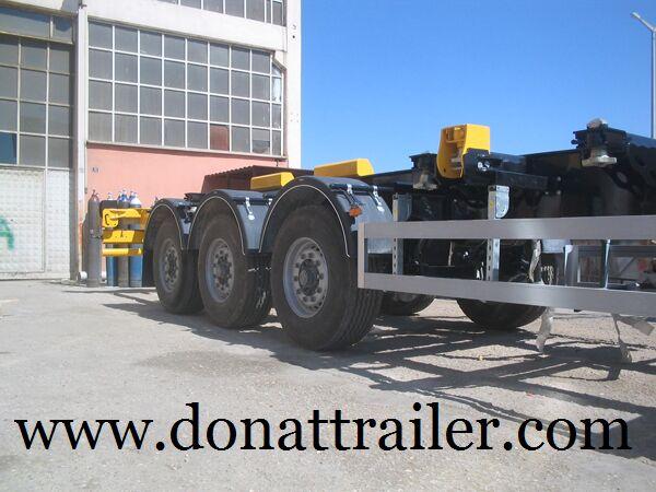DONAT Container Chassis Semitrailer - Extendable semirremolque de contenedores nuevo