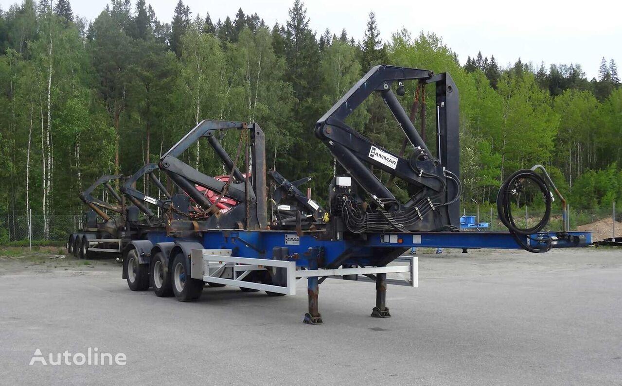 HAMMAR 160 S / 33 T / 20'-40' semirremolque de contenedores
