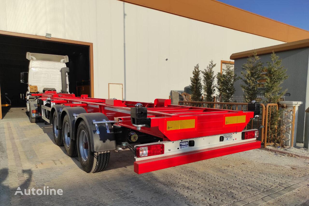 NOVA NEW CONTAINER SEMI TRAILER PRODUCTION semirremolque de contenedores nuevo