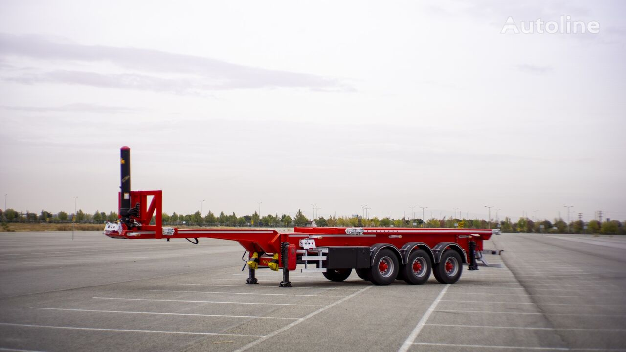 NOVA NEW CONTAINER TIPPING CHASSIS PRODUCTION 20,30,40 FT semirremolque de contenedores nuevo