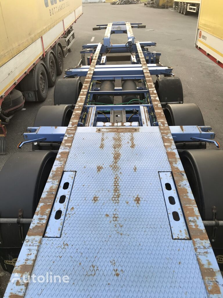ORTHAUS Cgm portacontainer collo d'oca semirremolque de contenedores