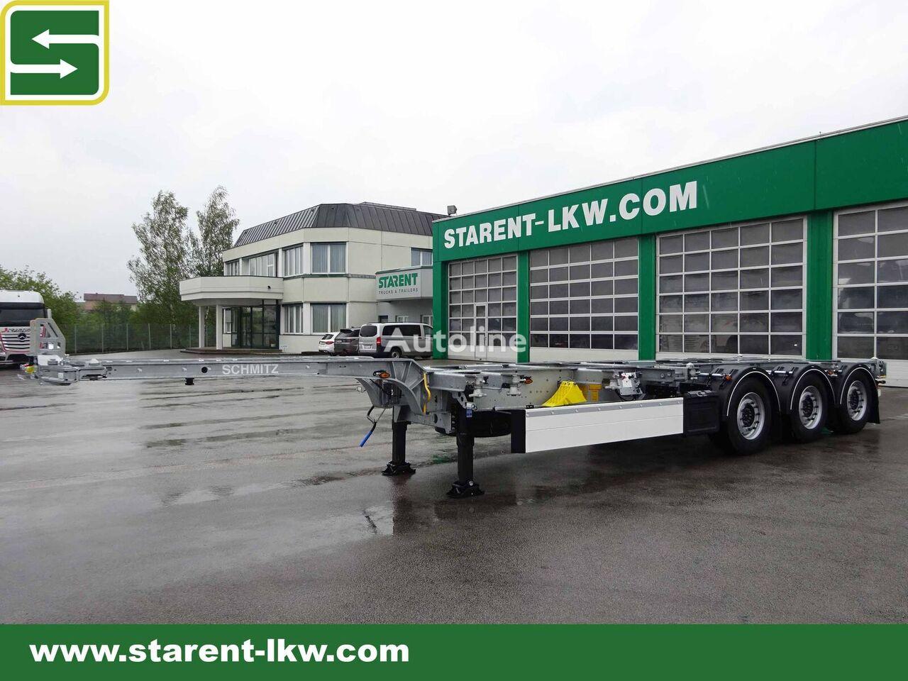 SCHMITZ CARGOBULL Containerchassis - 45' EURO 20', 30', 40', 45', High Cube, Lifta semirremolque de contenedores nuevo