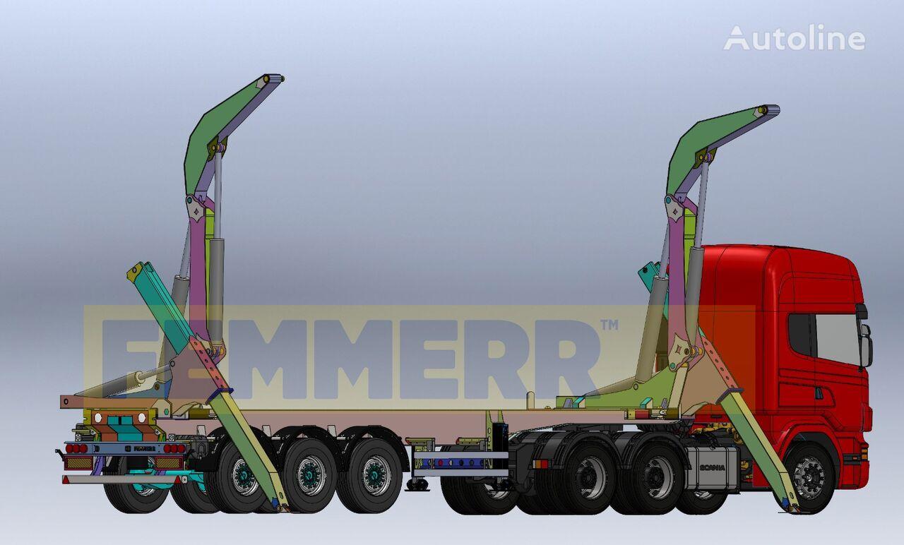 STU FEMMERR - 20FT & 30FT CONTAINER SIDE LIFTER semirremolque de contenedores nuevo